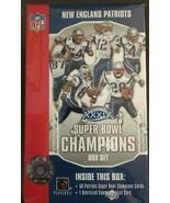 2005 Upper Deck Super Bowl New England Patriots Champions XXXIX Set Tom ... - $16.95