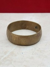 Made In India Vintage Bangle - Possibly Brass? - $9.99