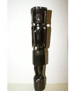 Rare Melanesia Ebony Artist Sculpture Woman Effigy Totem Figure Hand car... - $180.49