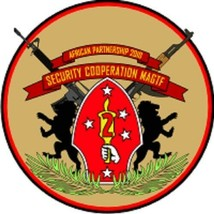 USMC Security Cooperation MAGTF Marine Air-Ground Task Force Decal 4'' - $11.87