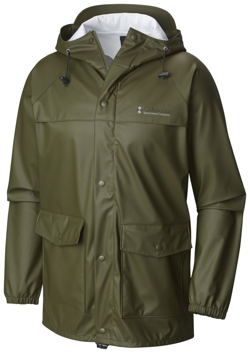 Columbia Men's Ibex Jacket Surplus Green L