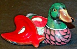 Duck Figurine (Jewelry Box ) AA20-2060 Vintage image 4
