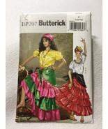 NEW Butterick BP207 L XL Gypsy Costume Pattern Uncut Womens - $5.99