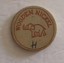 Wooden Nickel Token Jungle Golf Myrtle Beach S.C. Free Game Vintage Loose - $9.49