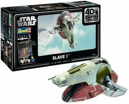 Revell of Germany 05678 1:88 Star Wars Slave I-40th Anniversary Plastic ... - $54.44