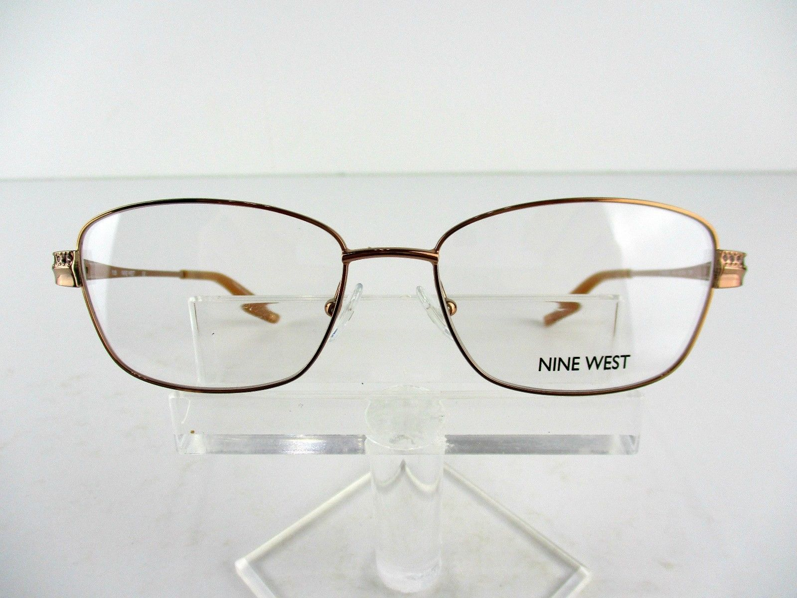 Nine West NW 1048 (780) Rose Gold  52 x 16 135 mm Eyeglass Frames