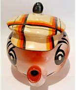 Vintage Wade Made in England Hand Painted Caddie Andy Capp Teapot - $29.69