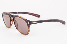 Tom Ford Flynn Havana Brown / Brown Gradient Sunglasses TF291 50F - $204.82