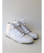 Basketball Shoes Nike Dunk CMFT Prm Qs White/White Athletic Sneakers 14 ... - $108.90