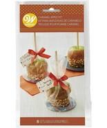 Caramel Apple Gift Kit 8 Ct Bags, Tags, Ties, Plates - $4.45