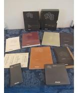 Lotus 123 Release 2 DOS IBM PC 5.25 Disks - Books Case Templates 1985  - $49.57