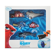 Disney Store Disney Pixar Finding Dory Sketchbook Ornament Set  Nemo Han... - $98.95