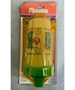 Vtg NIP Playtex 9oz Spill Proof Cup Sippy Spout1995 SEALED Ball Animals ... - $29.65