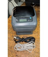 Zebra GX420d Thermal Printer USB and Serial, Power Supply, USB Cable  - $216.81