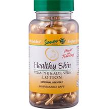 Sanar Naturals Healthy Skin Vitamin E Aloe Vera Lotion Capsules 60 ct - $12.82