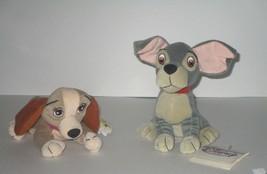 Disney Lady & the Tramp Mini Bean Bag Plush w/Tags - $9.49