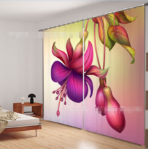 3D Bright 648 Blockout Photo Curtain Printing Curtains Drapes Fabric Window UK - $145.49+