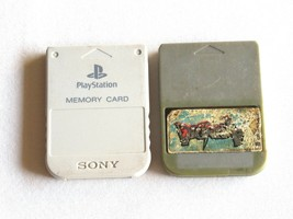 Sony Playstation Memory Card PS1 Official Genuine SCPH 1020 Gray Tested ... - $17.22 CAD