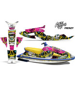 Yamaha Wave Raider Jet Ski Decal Wrap Sticker Graphics Kit 1994-1996 FRE... - $198.08