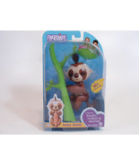 WowWee Fingerlings Kingsley Baby Sloth Interactive Toy Brown and Tan 40+... - $29.95