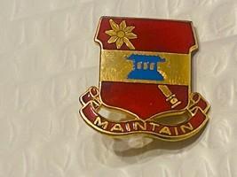 US Military 703rd Maintenance Battalion Insignia Pin - Maintain - $10.00