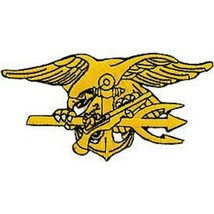 US Navy Seal Trident Patch   - $11.87