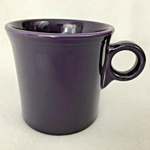 Fiesta Plum Coffee Mug Homer Laughlin 10 OZ Fiestaware 0 Ring Handle - $8.86