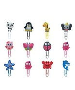 1pcs Lovely Animals Bookmarks for Kids Cute Panda Book Mark Paper Clips ... - $2.69