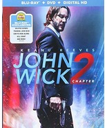John Wick: Chapter 2 [Blu-ray]+DVD+ Digital HD - $16.24