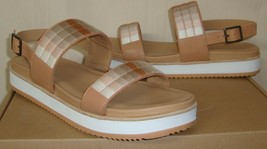 Soludos Anthropologie Remy Embroidered Camel Sandals Women's Size US 8.5 NEW - $68.30