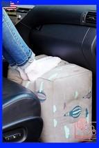 Inflatable Travel Footrest Rest Pillow Leg Foot cusion Portable Pad Kids... - €25,92 EUR