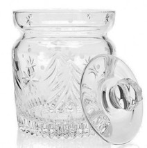 Waterford Crystal Christmas Nights Biscuit Barrel trees and stars # 40028002 New - $248.24