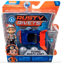"Spin Master Nickelodeon Rusty Rivets Action Figure Toy Set ""Flying Rusty Kart"" - $9.80"