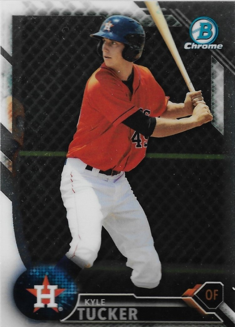 Primary image for Kyle Tucker Bowman Chrome 2016 #BCP60 Prospects Houston Astros