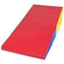 "K-Roo Sports Medium Folding Incline Cheese Wedge Mat 59.25"" x 29.5"" x 14... - $200.97"