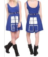 Doctor Who BBC Tardis Cosplay Dress Dr Size XXL - £33.76 GBP