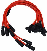 EFI Distributor 6 Cylinders Vortec 1995-2007 & Red Spark Plug Wires For Chevy GM image 6