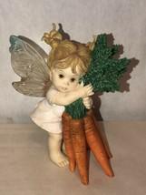 Enesco My Little Kitchen Fairies Fairy Figurine Thanks A Bunch Carrots W... - $29.70