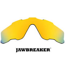 Replacement Lenses for Oakley Jawbreaker Sunglasses Anti-Scratch Gold Mi... - $12.49