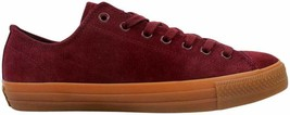 Converse Chuck Taylor All Star Pro OX Deep Bordeau 150943C Men's Size UK 11 - $79.25