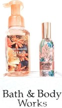 Bath and Body Works Sun Washed Citrus Foaming Hand & Room Spray Gift Set... - $19.79