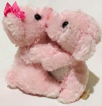 "Dan Dee Collector's Choice Kissing Bears Pink Hugging Plush 5"" - $12.86"