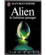 Alien Novelization Ridley Scott Movie Alan Dean Foster French Book 1980 - $6.45