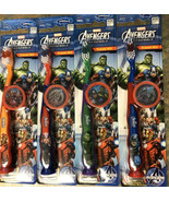 4 Marvel Avengers Toothbrushes Thor, Hulk, Iron Man, Captain America Shi... - $19.99