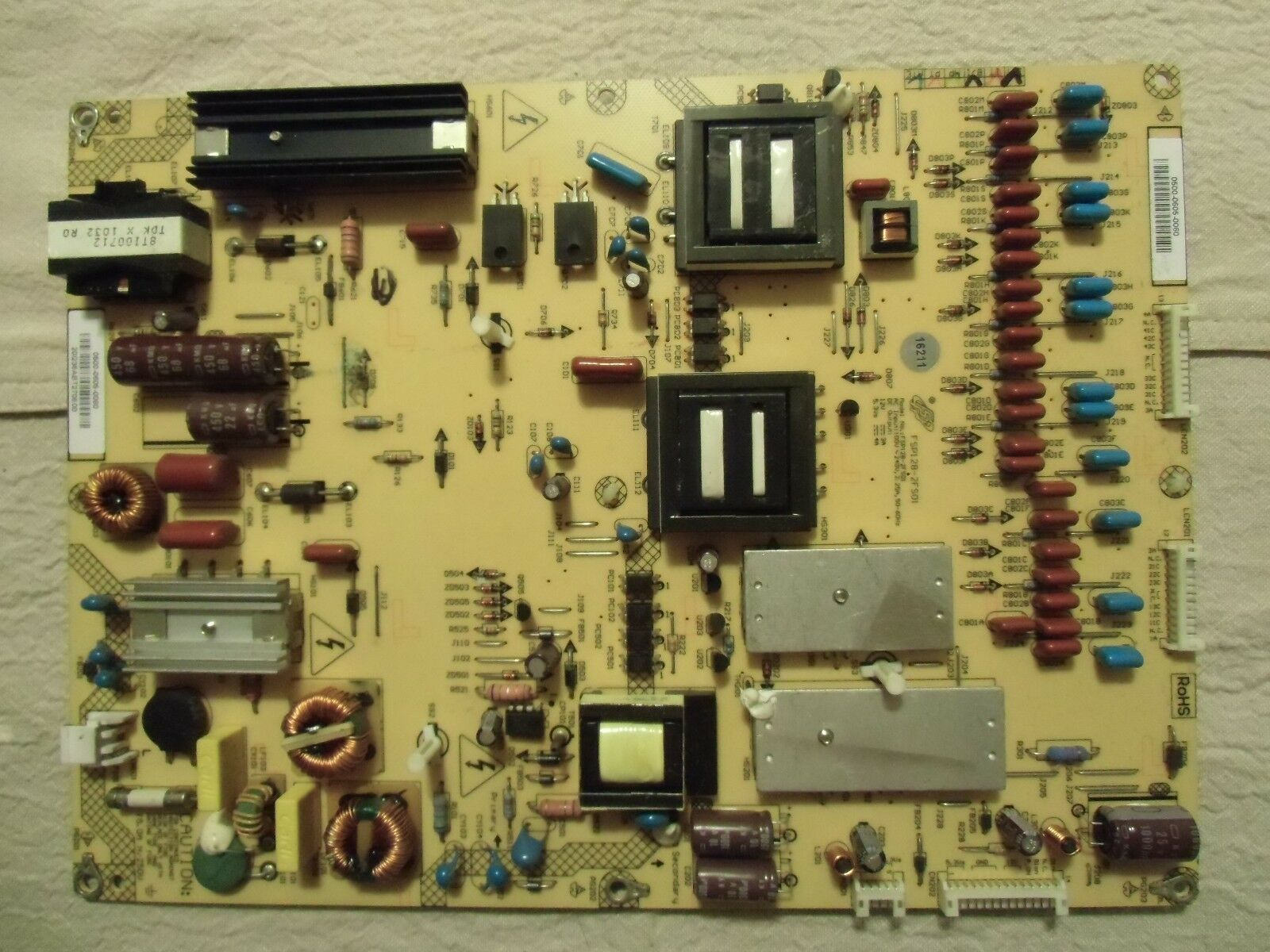 Primary image for Vizio M370NV Power Supply Board 0500-0605-0060 (FSP128-2FS01)