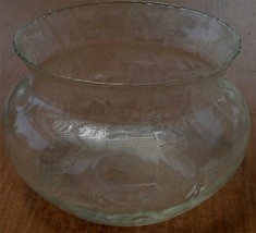 Princess House Optic Waves Flared Bowl, Large Size, Optic Waves Pattern, VGC - $34.64