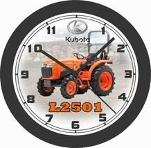 KUBOTA L2501 TRACTOR WALL CLOCK-FREE USA SHIP - $28.70+