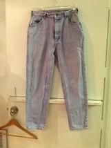 LEE Women's Faded Wash Blue Denim Jeans Size 12 Petite - $17.95