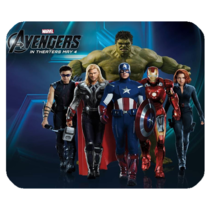 Mouse Pad The Avengers Marvel Superheroes Fantasy Animation Movie In Comic Book - $9.00