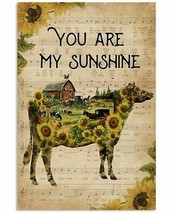 You Are My Sunshine Poster, Beautiful Farm Poster, For Kitchen, Gift For... - $21.75+